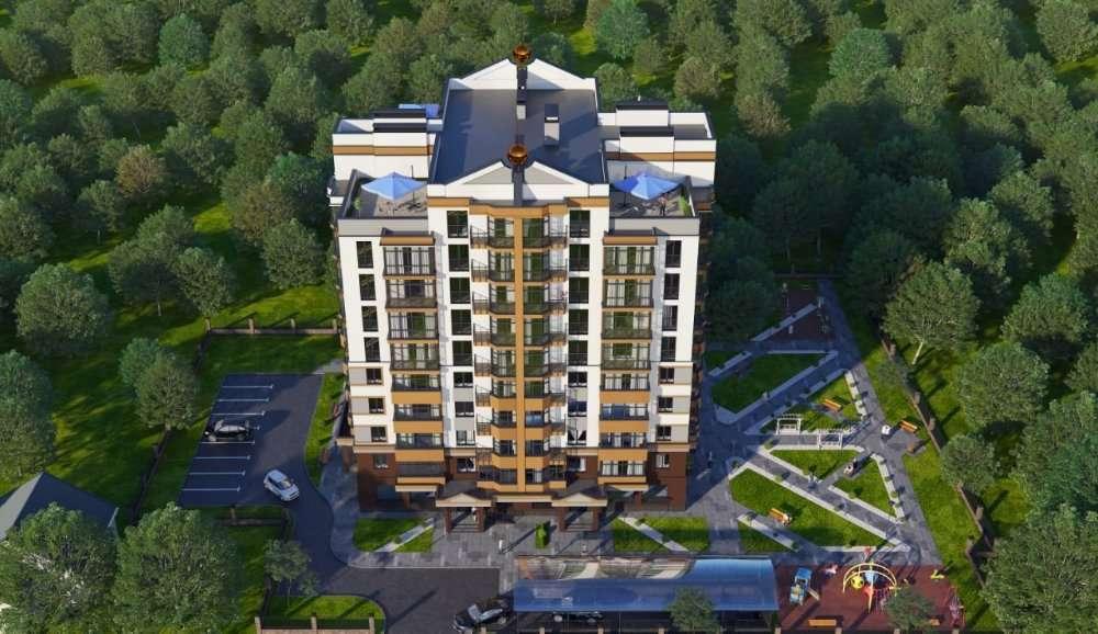 Шикарная однокомнатная квартира с панорамными окнами