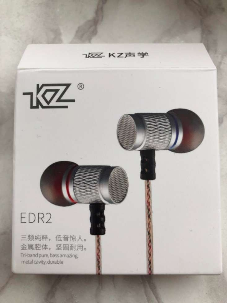 Наушники KZ EDR2 Mega Bass Hi-Fi. Новые!  140 грн - Электроника ... 14d11eead792c