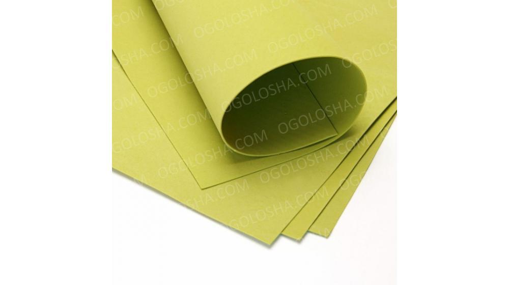 Фоамиран иранский оливкового цвета, 60*70