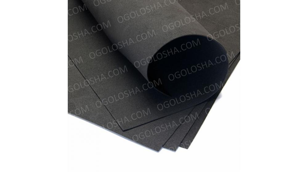 Фоамиран иранский черного цвета, 60*70