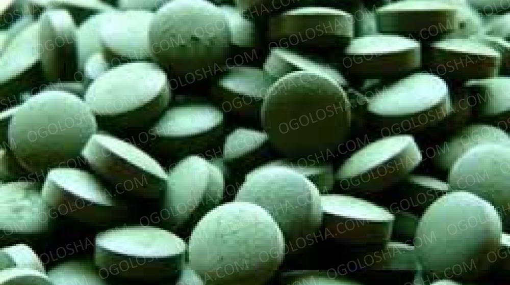 Спирулина таблетированная марки Доюань