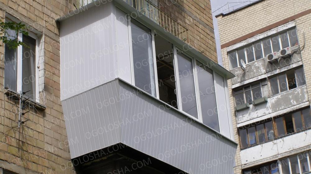 Балконы под ключ, окна, москитные сетки
