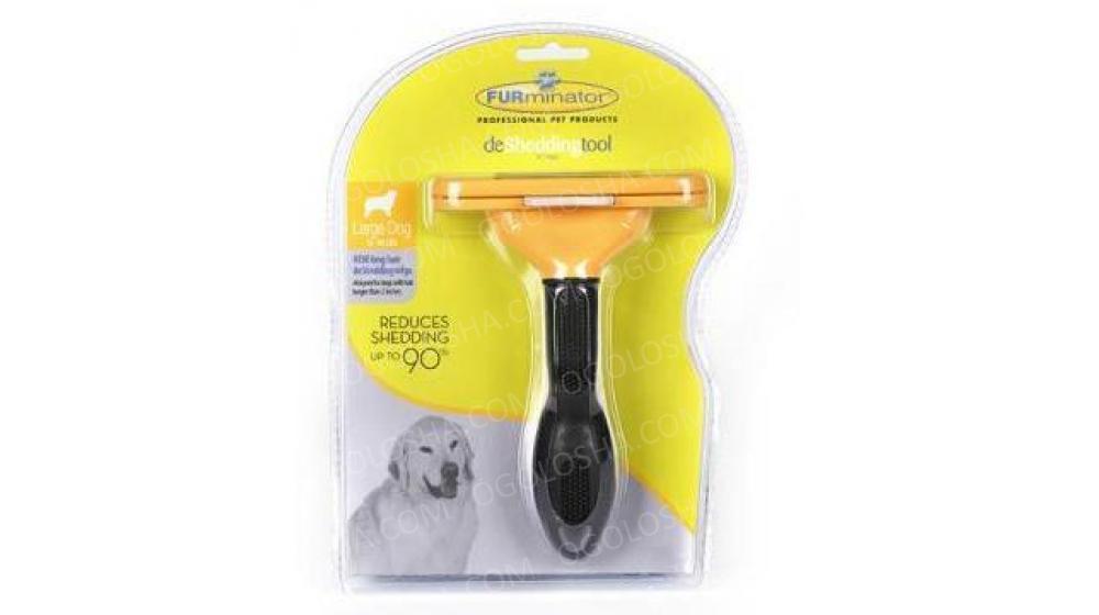 Furminator Фурминатор большой для короткошерстных собак размер - 10,16 см
