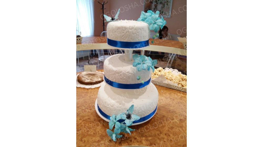 Свадебные торты под заказ в Киеве