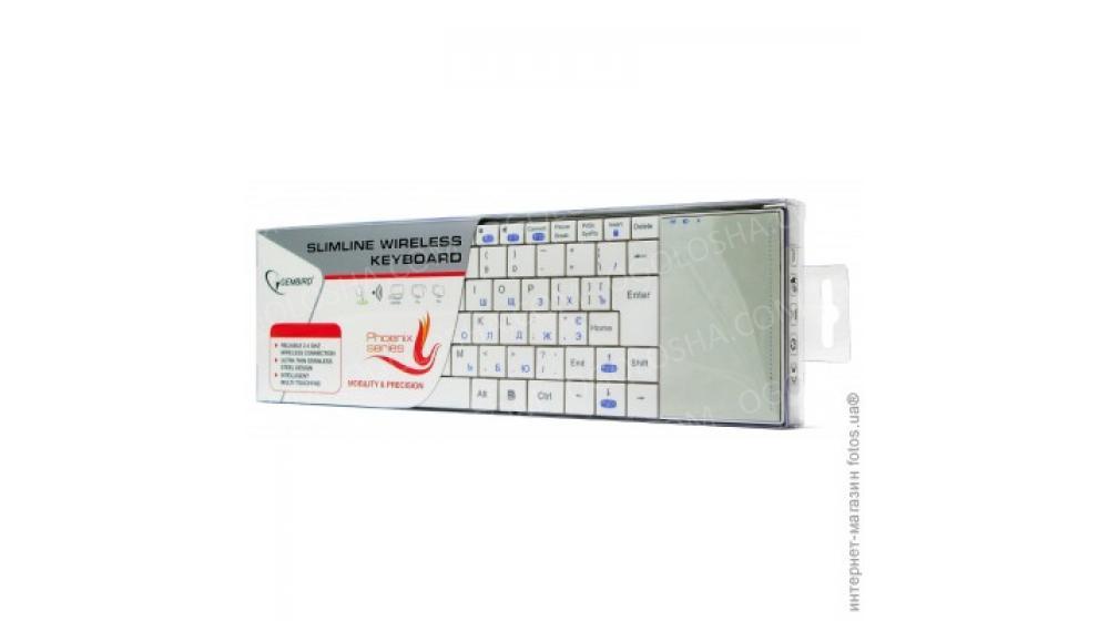 Продам клаву Gembird KB-P4-W-UA