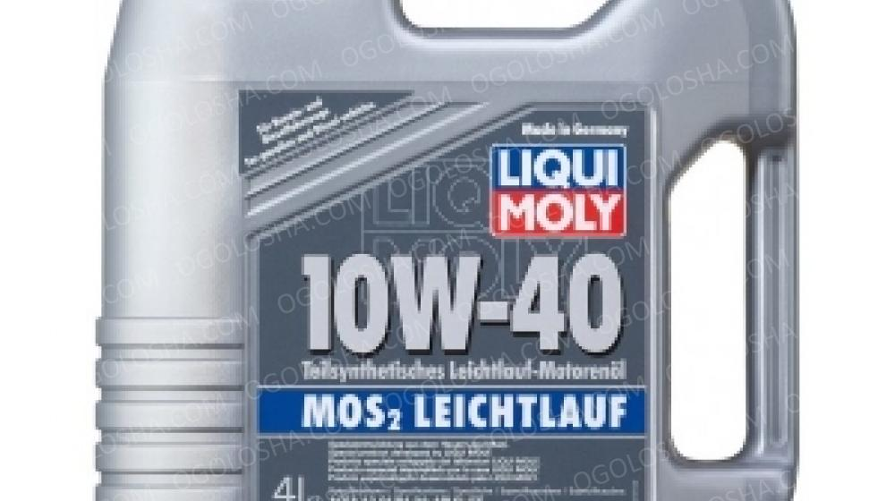 LM 4л LEICHTLAUF MoS2 10W-40 Масло полусинтетическое
