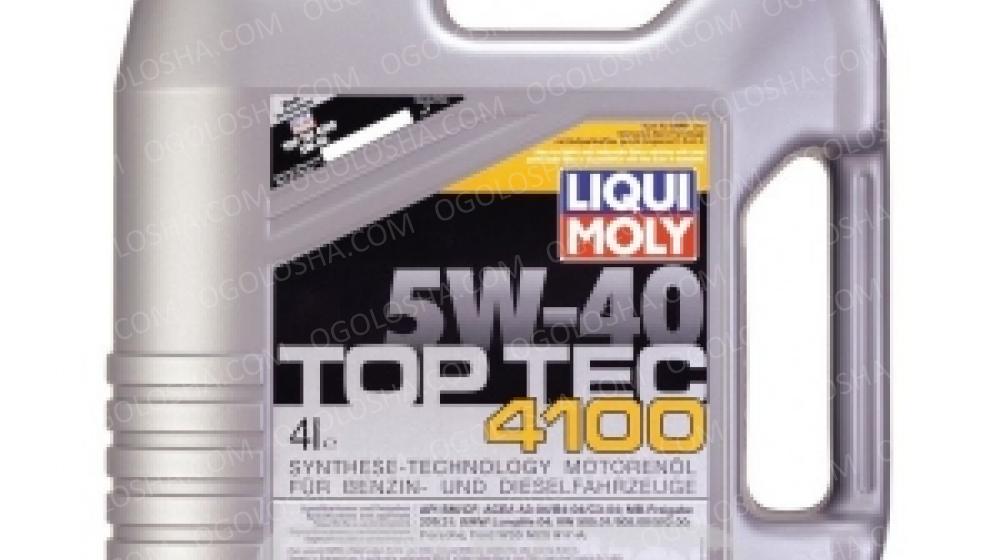 LM 4л TOP TEC 4100 5W-40 Масло синтетическое