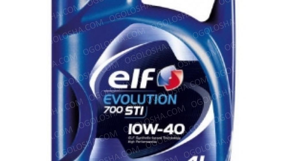 ELF 4л Evolution 700 STI Масло полусинтетическое 10W-40