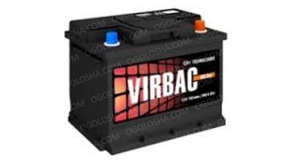 Аккумулятор (АКБ) VIRBAC classic 6СТ-60-АЗ(0) 480A (242*175*190) 15кг.