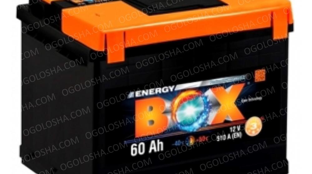 Аккумулятор (АКБ) ENERGY BOX 6СТ-60-АЗ(0) 510A