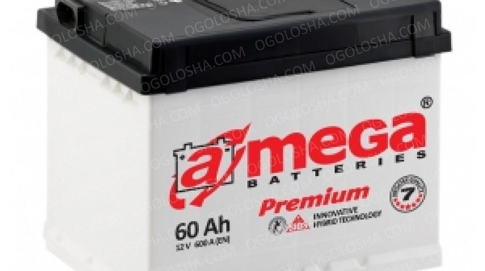 Аккумулятор (АКБ) А mega BATTERIES Premium 6СТ-60-АЗ (0) 600A