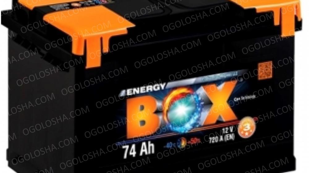 Аккумулятор (АКБ) ENERGY BOX 6СТ-74-АЗ(0) 720A