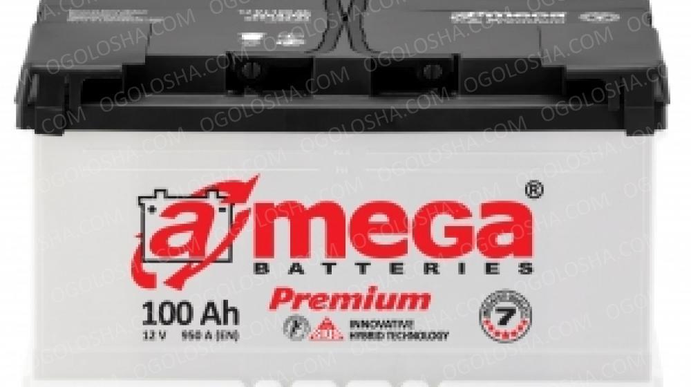 Аккумулятор (АКБ) А mega BATTERIES Premium 6СТ-100-АЗ (0) 950A