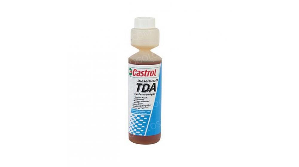 CASTROL 0,25л TDA Присадка к дизельному топливу (антигель)