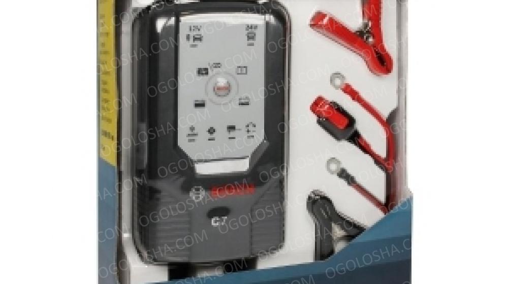 BOSCH Зарядное устройство C-7(12V =14Ah-230Ah / 24V =14Ah-120Ah)