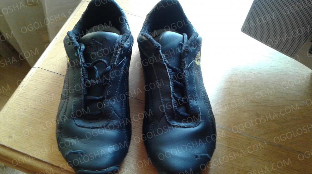 Продам кроссовки  кожаные PUMA б/у