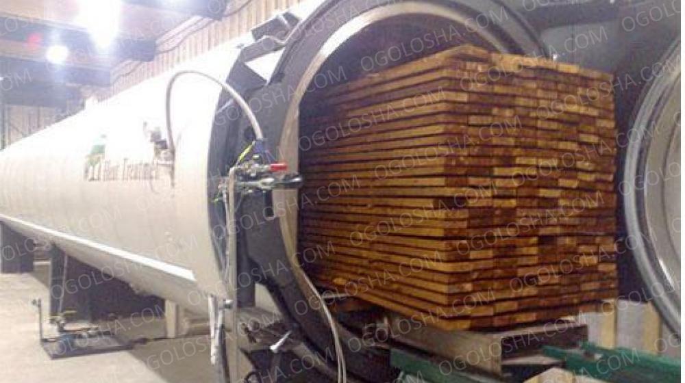 Термомодификация вашей древесины