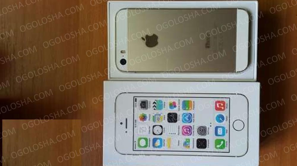 Продам мобильный телефон iPhone 5s 16GB Gold Оригинал