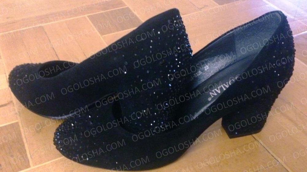 Туфли замшевые Mea Balan (39 размер)