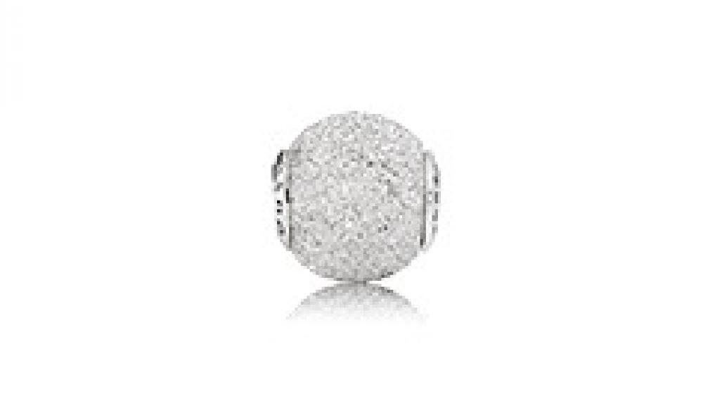 Мудрость серебряная бусина, Pandora (Пандора)