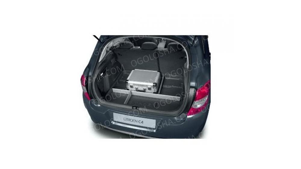 CITROEN Коврик багажника с алюм. перегородками C4(B7)/DS4