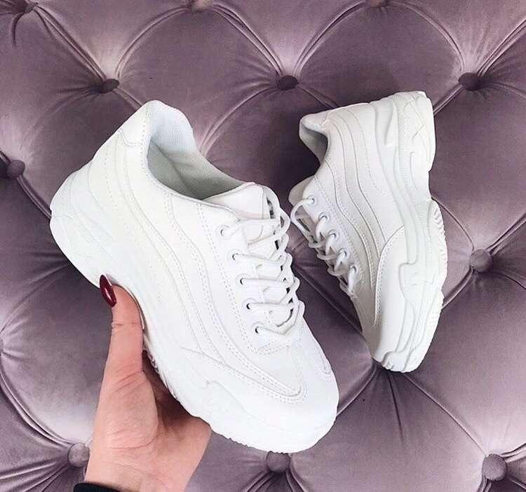 bc51cd2f Кросівки жіночі білі 37розмір,нові: 650 грн - мода і стиль, одяг ...