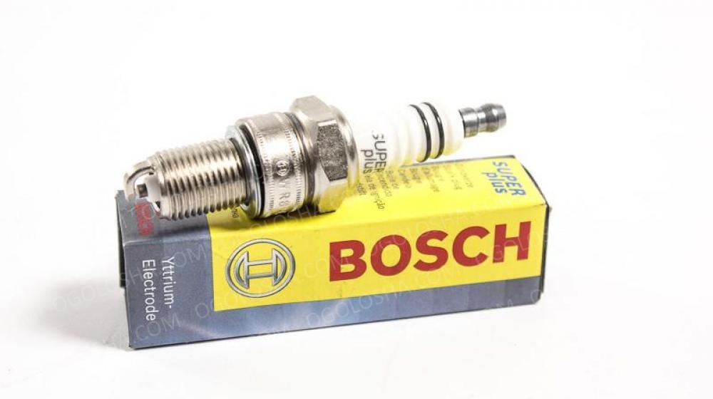 BOSCH (LV) WR8DE + 3 Свеча зажигания PLUS DAEWOO; KIA; MAZDA; DB; OPEL; VW. .