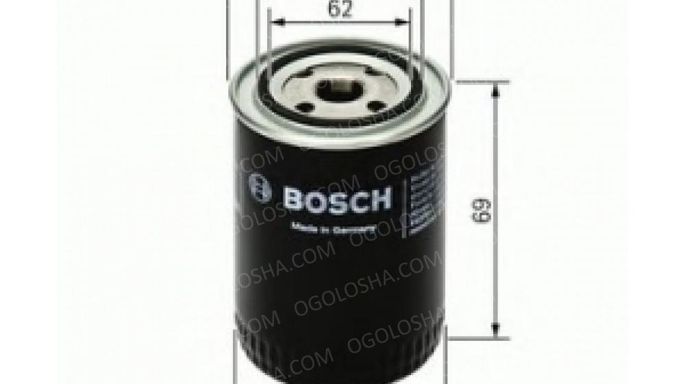 BOSCH (LV) P3274 H=69mm Фильтр масляный Daewoo Sens. LADA 2108-
