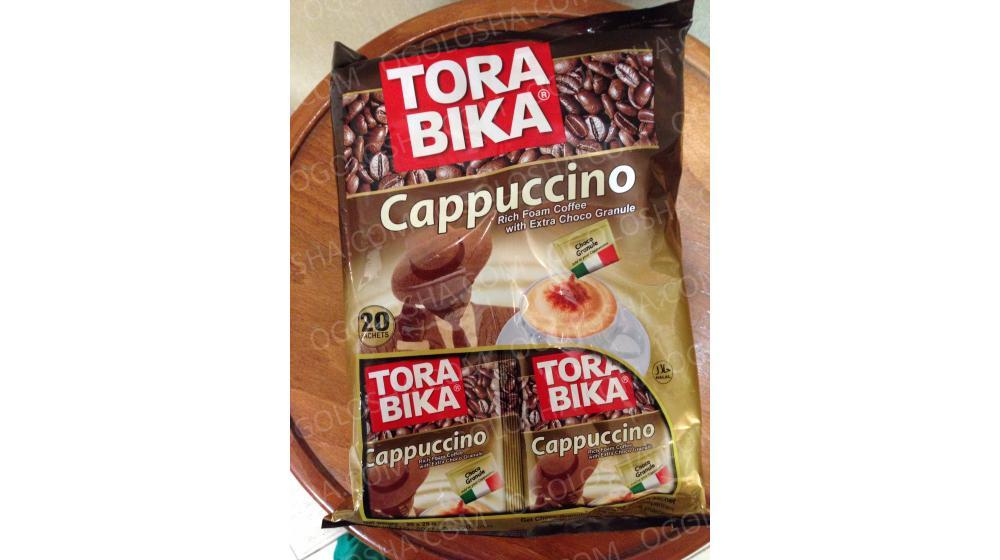 """TORA BIKA"" капучино с пакетиками шоколадной стружки"