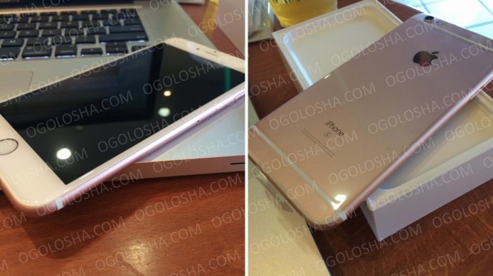 Новый Apple IPhone 6s Плюс 64GB разблокирована