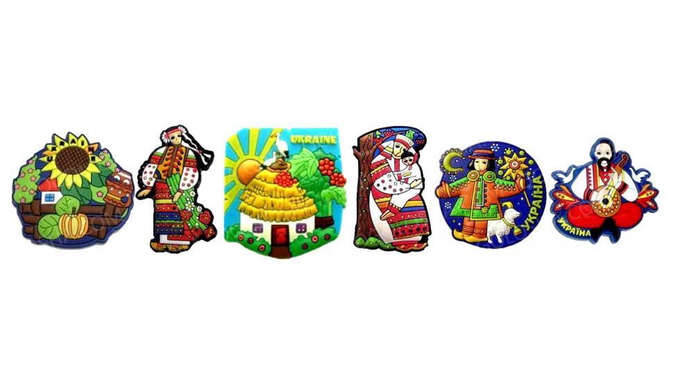 Сувенирные магниты об Украине - эффективный инструмент формирования украинского бренда