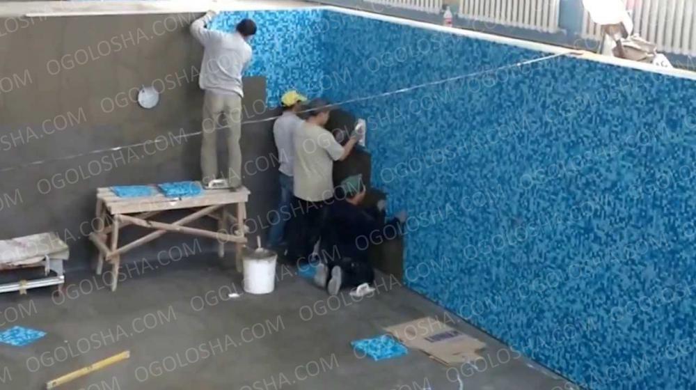 Укладка мозаики в Киеве