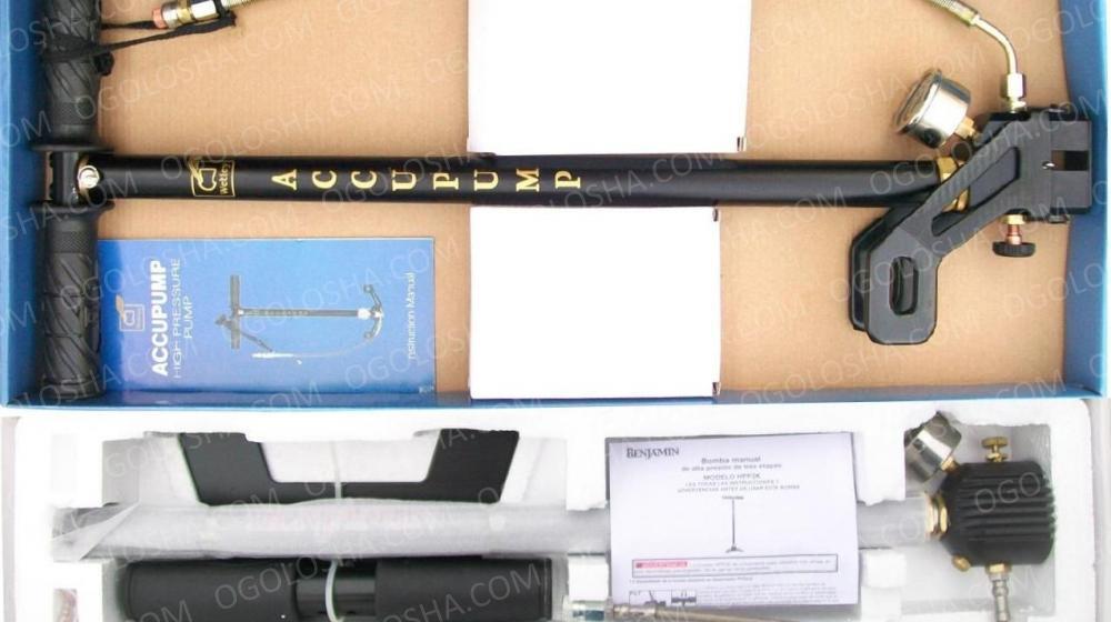 новые насосы ВД для накачивания PCP винтовок