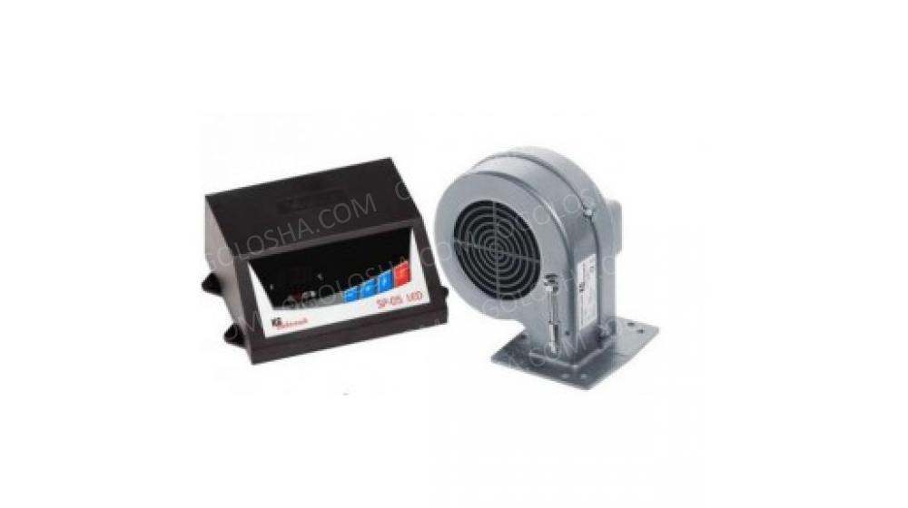 Tерморегулятор SP 05 LED KG Elektronik + Турбина Для Котлов