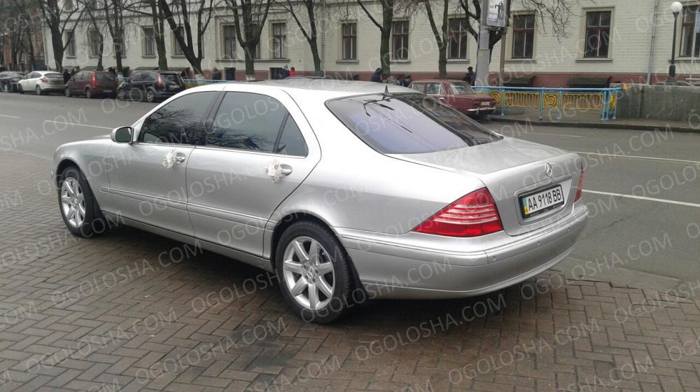 Продаю S500, w220, 1999 год. пробег 183 т. Продам!
