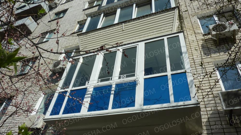 "Балконы, лоджии ""под ключ"": 8 000 грн - бизнес и услуги / ст."