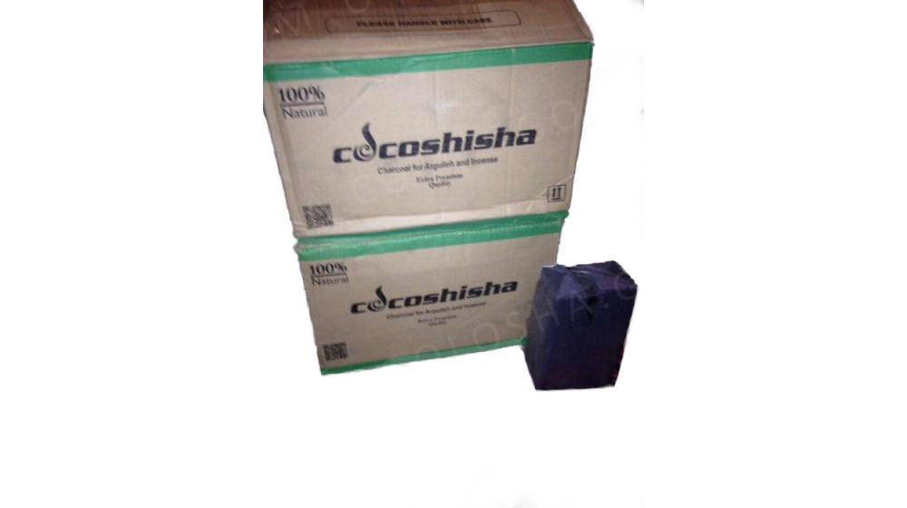 Покупайте уголь для кальяна COCOSHISHA 112 куб
