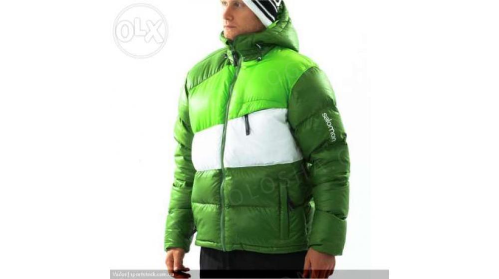 Пуховик Salomon down jacket 100% Оригинал!