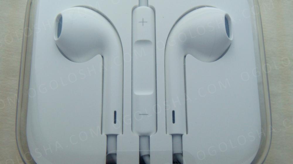 Новые оригинальные наушники Apple Earpods, iPhone iPad iPod