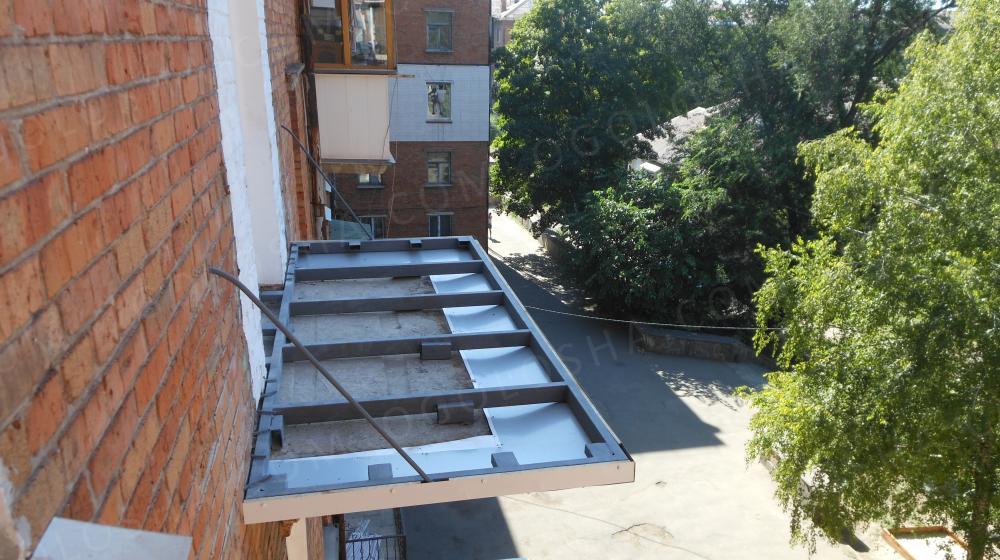 Реставрация, расширение балконной плиты: договорная - дом и .