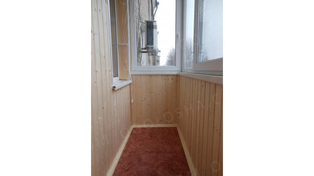Обшивка деревянной вагонкой: договорная - дом и сад / строит.