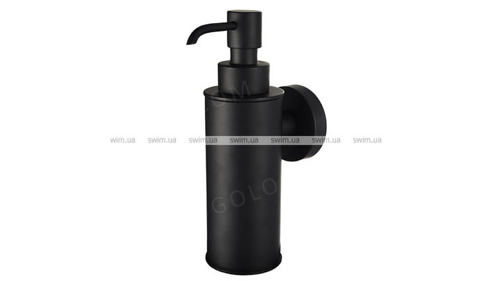 Дозатор жидкого мыла Haceka Kosmos Black 402917