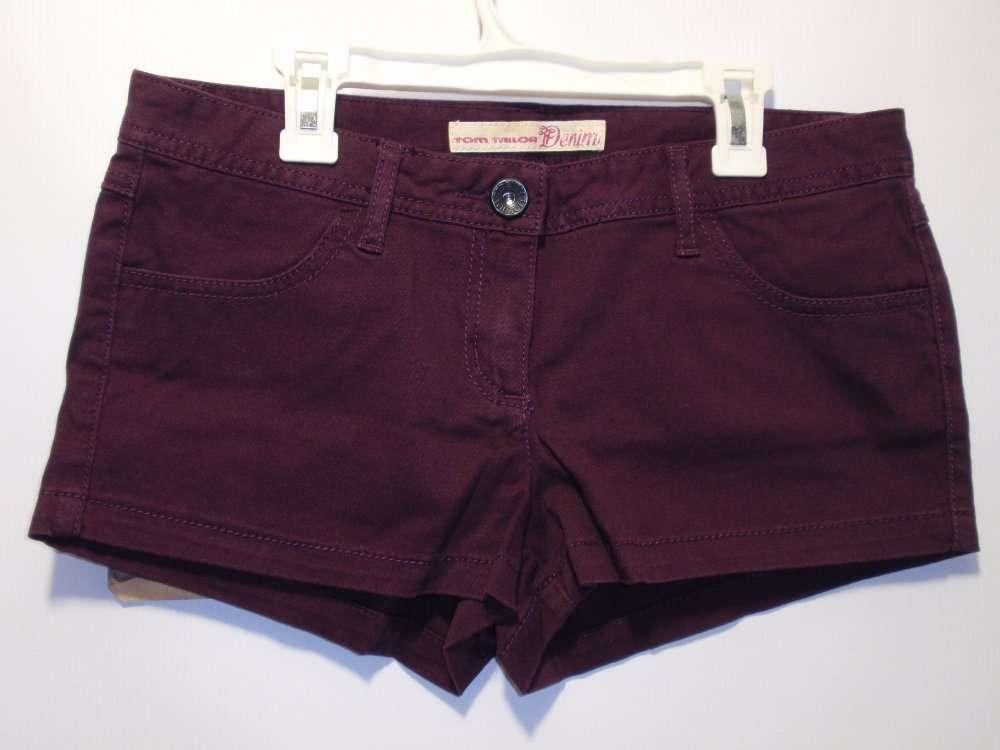 Стильные джинсовые шорты Немецкий бренд Tom Tailor, р. 27