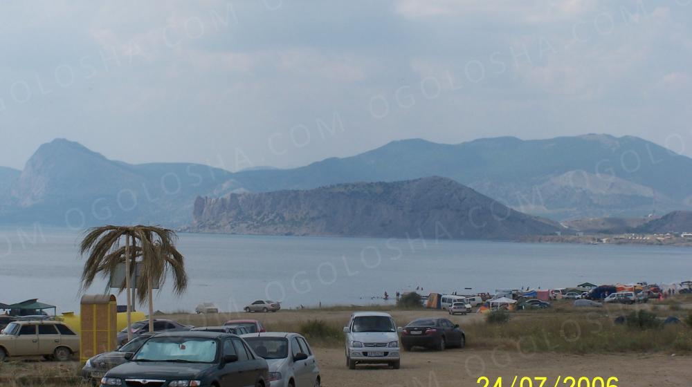 Продам участок Крым г.Судак мыс Меганом СТ Солнечная Долина