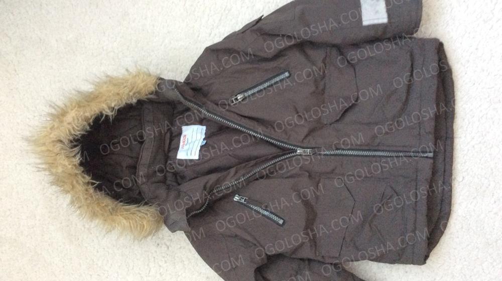 Зимняя куртка фирмы Kappahl на рост 110