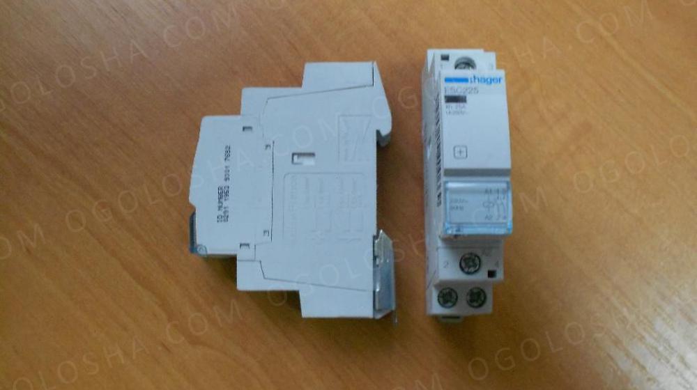 Hager ESC225 Контактор 25A, 2НВ, 230В, 1м