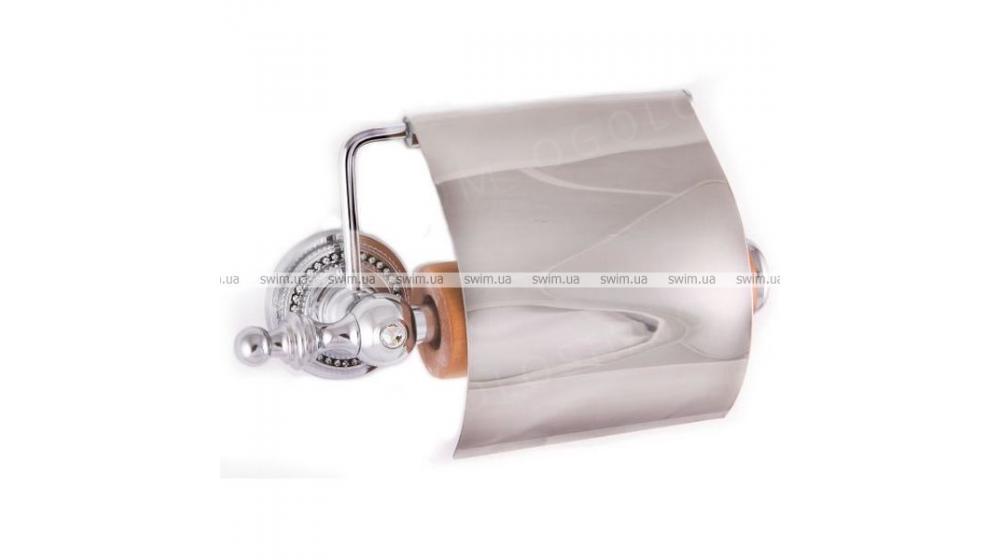 Бумагодержатель с крышкой Cameya H1402