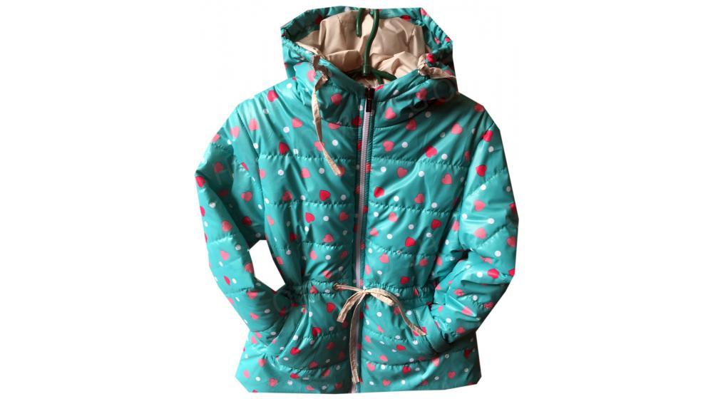 Демисезонная куртка для девочки 1-5 лет