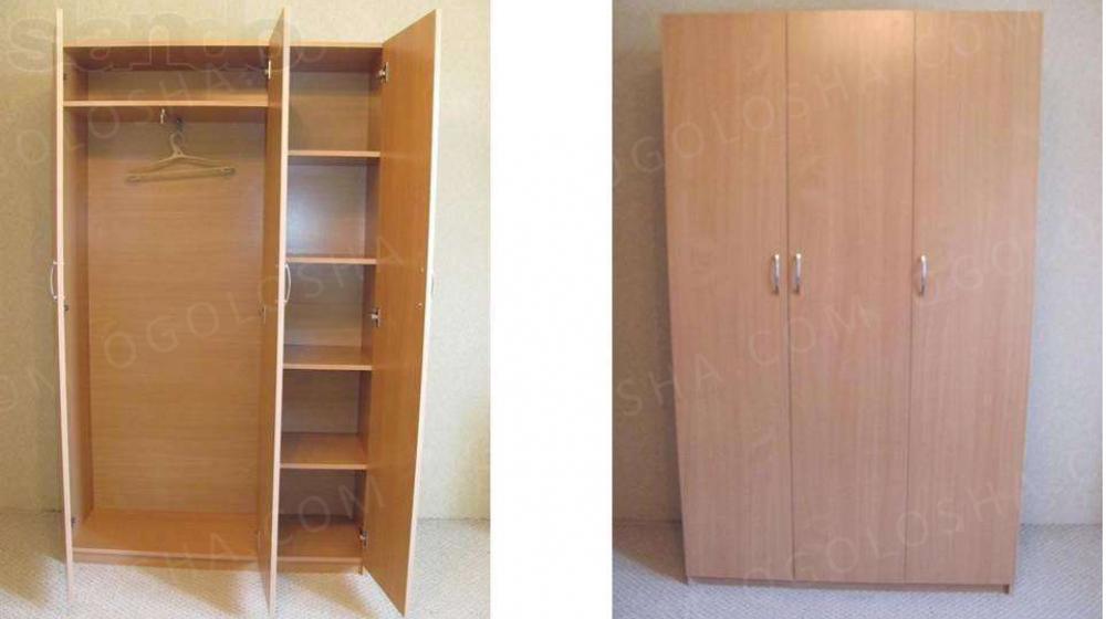 Шкаф для одежды трёхдверный - шкафы, полки в днепре на bazar.