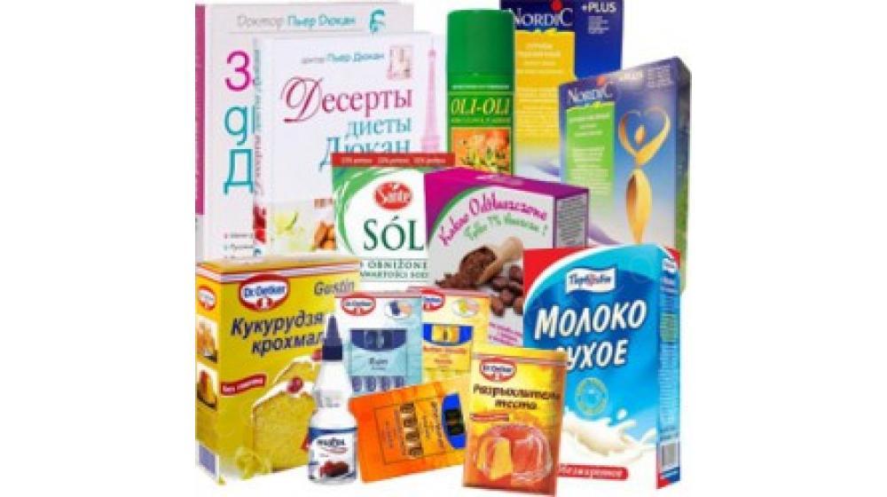 Продукты для диеты Дюкан, интернет магазин диетических продуктов